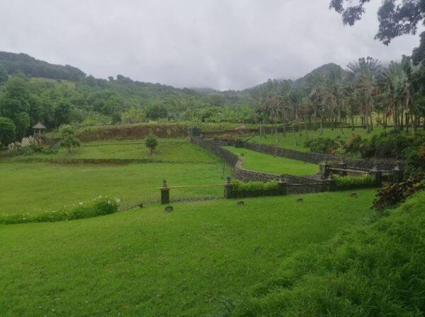 Le Domaine De Cerfs D Or Wedding Hall Chamouny Mauritius Garden