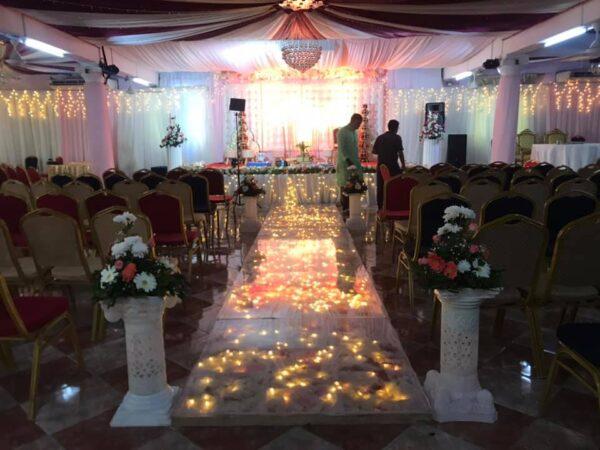 Le Palace Wedding Hall Flic En Flac Decoration