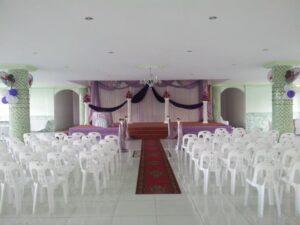 Shah Anas Noorani Hall Bell Village Mauritius Interior