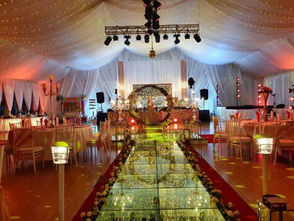 Val De Vie Event Garden Wedding Hall Mauritius Interior