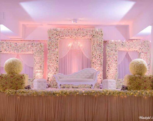 White House Banquet Wedding Hall Bambous Mauritius Decoration