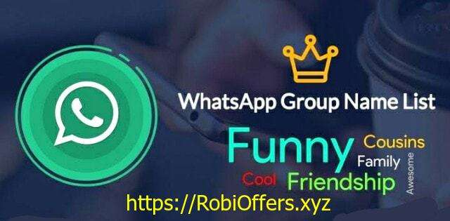 Unique WhatsApp Group Name Ideas for Friends and Family
