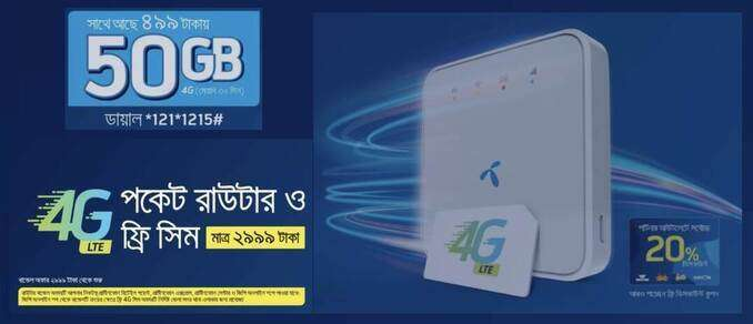 Grameenphone 4G Pocket Router