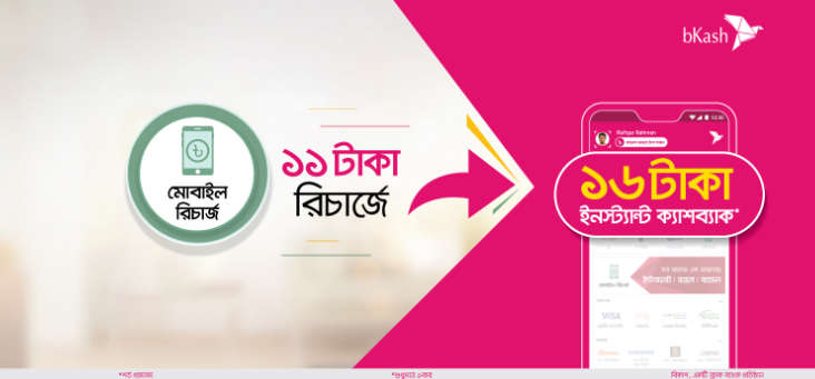 bKash Robi Recharge Offer 2021