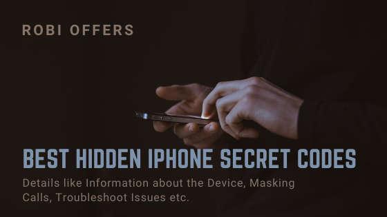 Best Hidden iPhone Secret Codes 2021