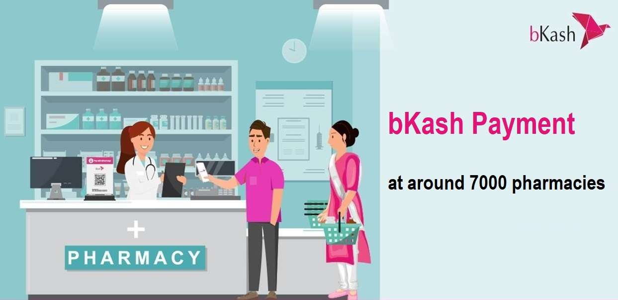 bKash Pharmacy Offer 5% Instant Cashback and Discount All Bangladesh