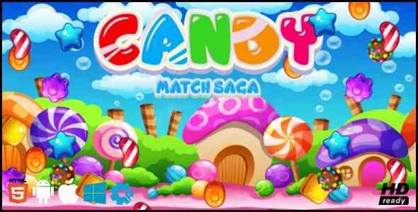 Candy Match Saga Game
