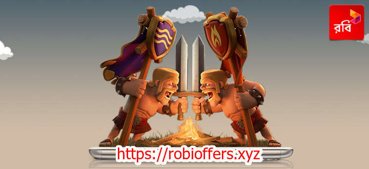 How to activate Robi Clash of Clans Internet Pack?