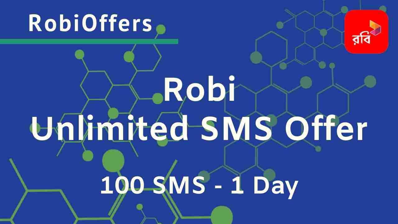 Robi Unlimited SMS Bundle Offer