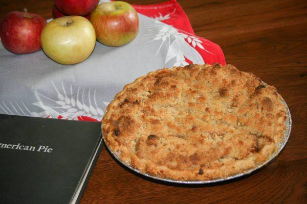 Dutch Apple Pie with Apples
