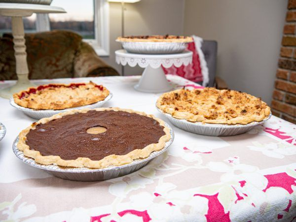 Buckeye Pie with other pies