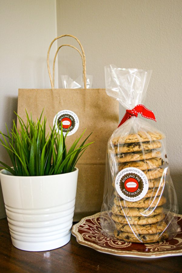 Chocolate Chip Cookies in Package