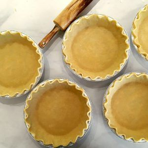 Single 9″ Deep Dish Pie Crust