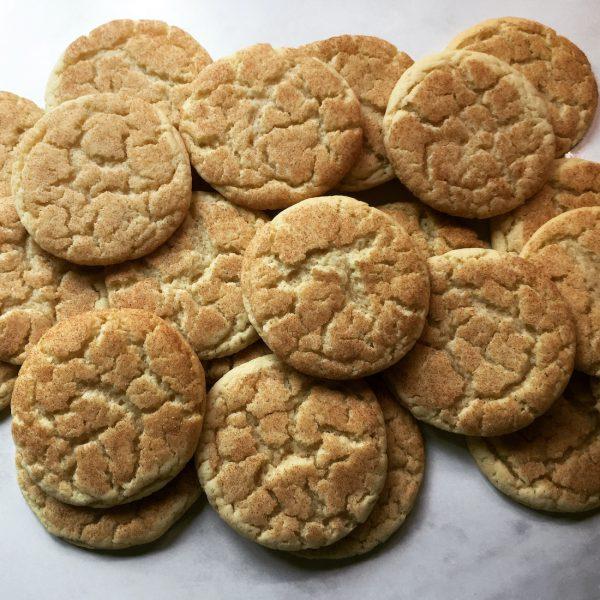 Pile of Snickerdoodle Cookies