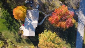 Rolling Pin Bakehouse from above