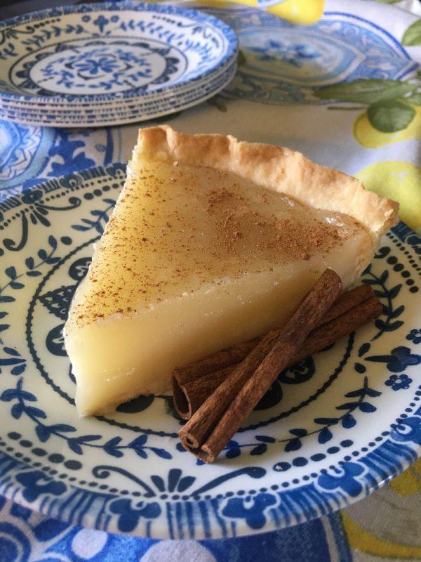 Slice of Sugar Cream Pie