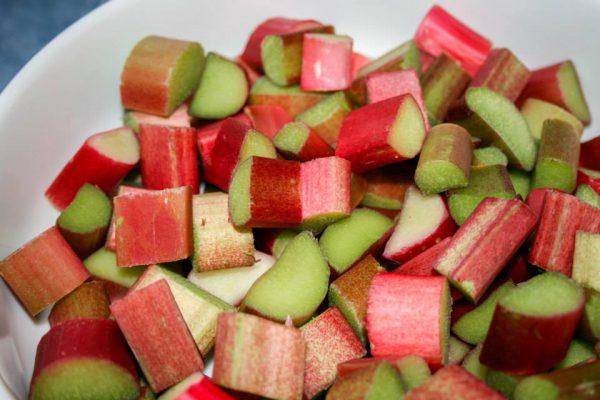 Sliced Rhubarb