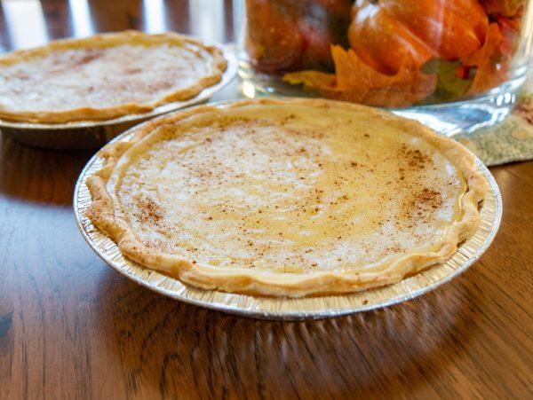 Sugar Cream Pie Closeup