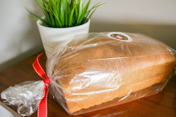 Sweet Amish White Bread in Package