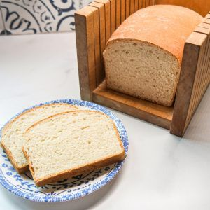 Sweet Amish White Bread
