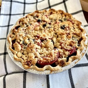 Blueberry-Peach Pie