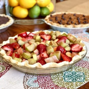Strawberry Rhubarb Pie (Available May-June)