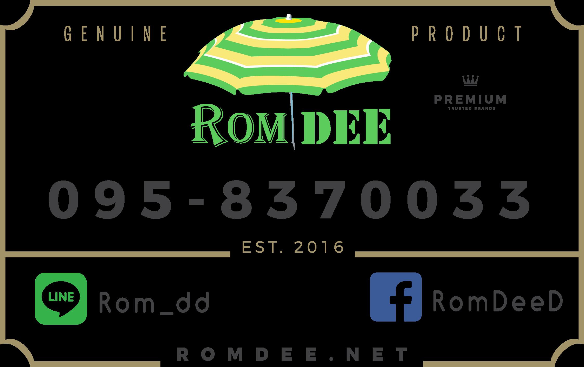 Romdee's Badge - Geniune Product