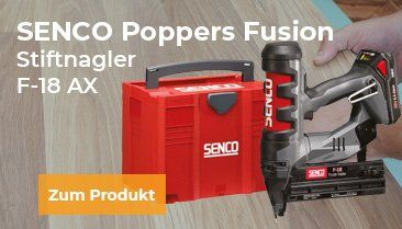 Poppers Fusion Stiftnagler F-18 AX bei ROOBEO