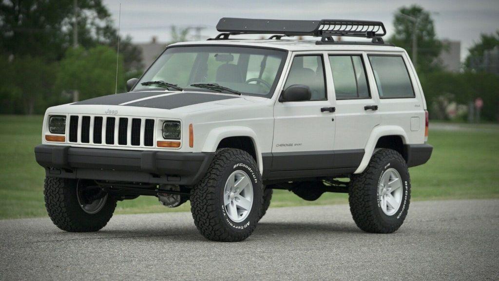well serviced 2001 Jeep Cherokee Sport 4×4