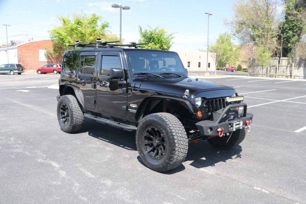 2011 Jeep Wrangler Unlimited Sahara 4X4 [lots of extras]