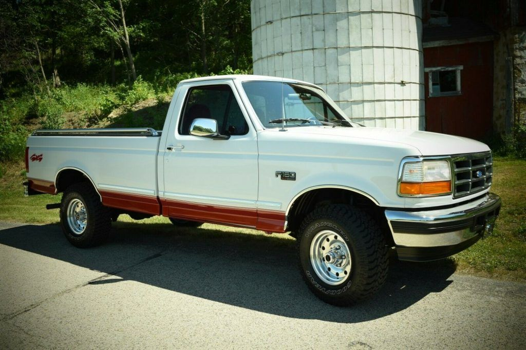 1996 Ford F-150 XLT Pickup 4X4 [well maintained]