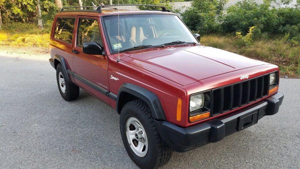 1998 Jeep Cherokee Sport 2door 4×4 [beautiful and very original]