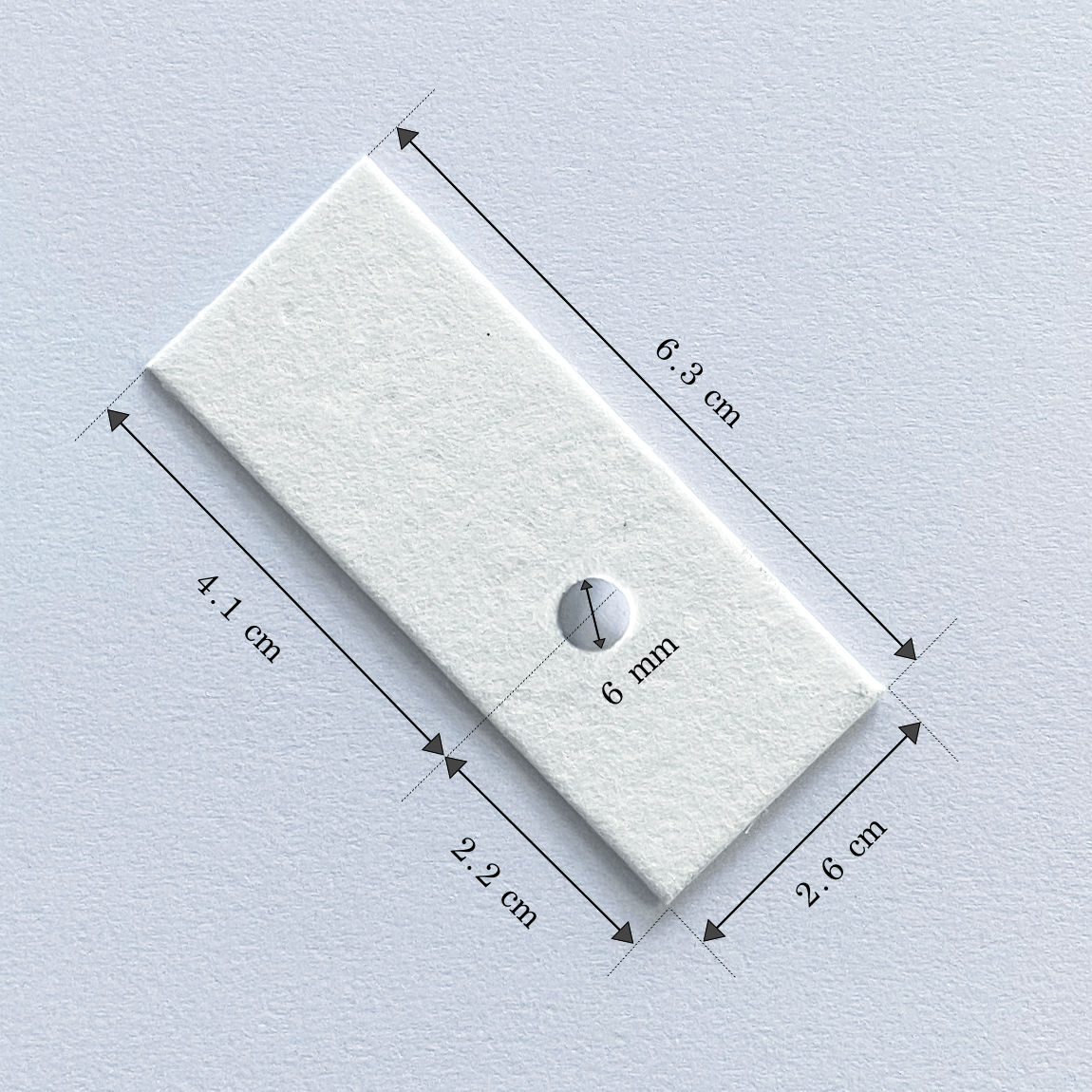 Buy Tharmac Single Hole White Filter Card (Pack of 10) at best price in India with Free Shipping, Installation & Service