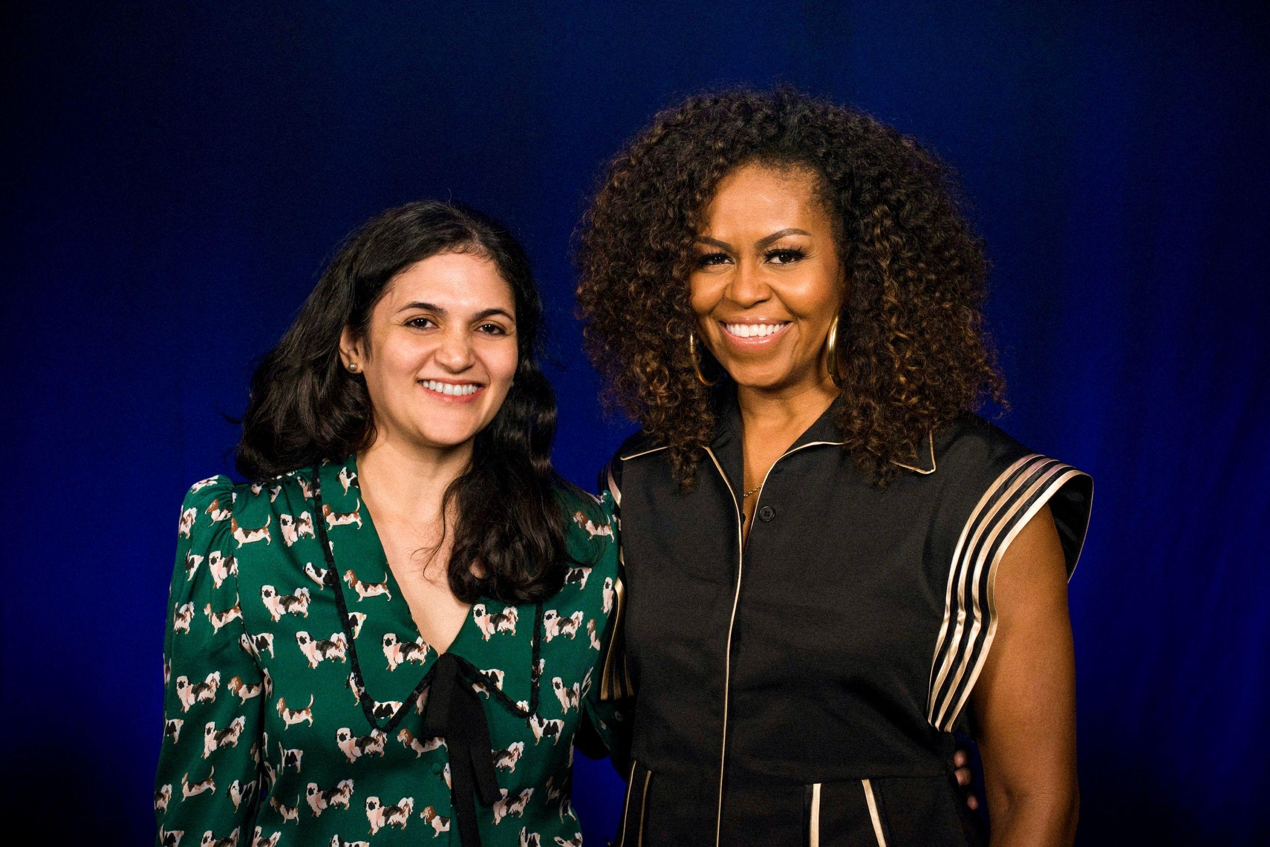 Pranoti Nagarkar met Michelle Obama!
