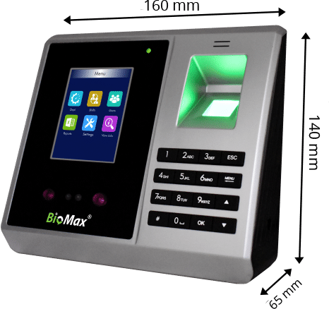 N-BM60 W Pro Face with Fingerprint Time Attendance Device