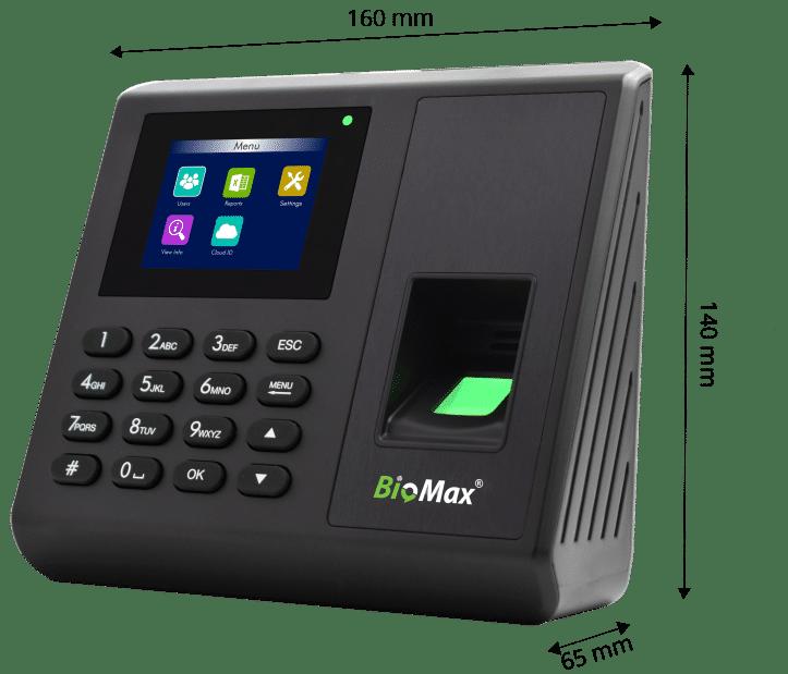 N-K30 advance fngerprint with access control dimension