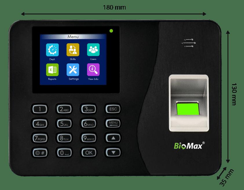 WL20 Fingerprint device specification