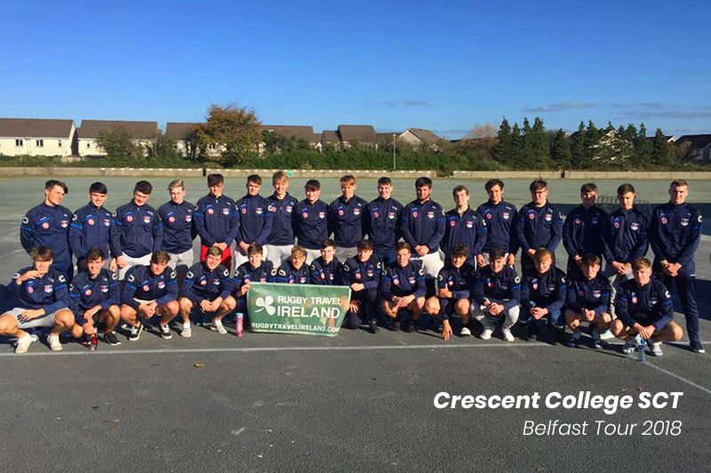 Crescent College SCT Belfast Tour Rugby Travel Ireland