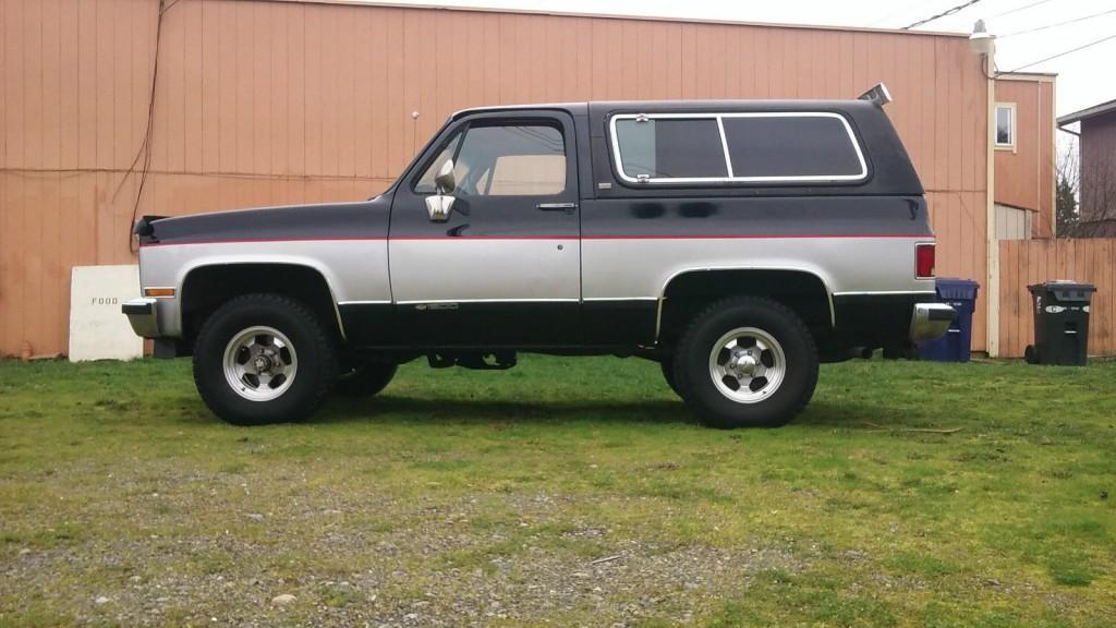 1991 Chevrolet k5 Blazer 4×4