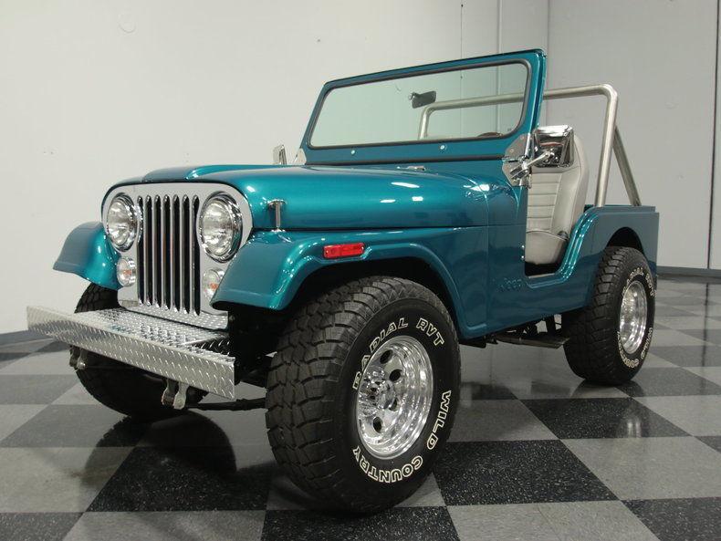 1978 Jeep CJ offroad
