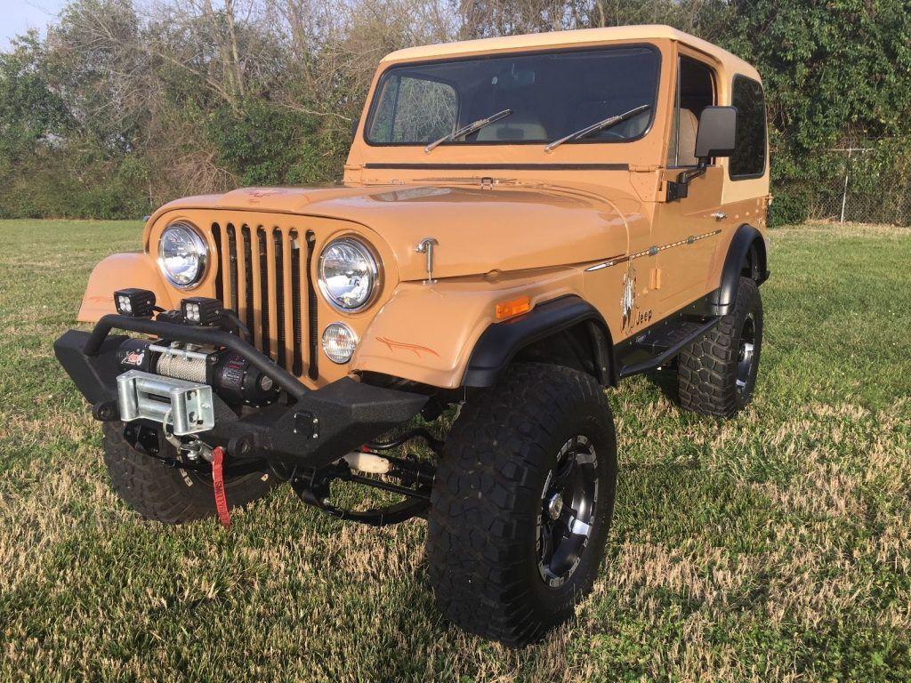 Restored 1978 Jeep CJ CJ7 offroad