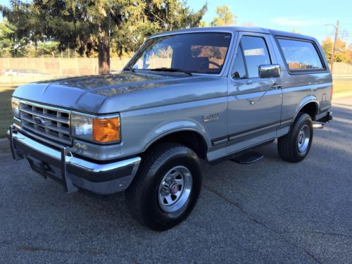 all original 1988 Ford Bronco offroad