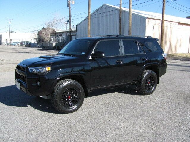 low miles 2018 Toyota 4runner TRD Pro offroad