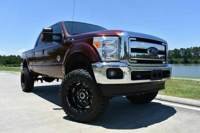 well equipped 2015 Ford F 250 Lariat offroad