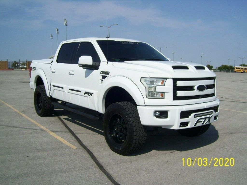 loaded 2016 Ford F 150 Tuscany offroad