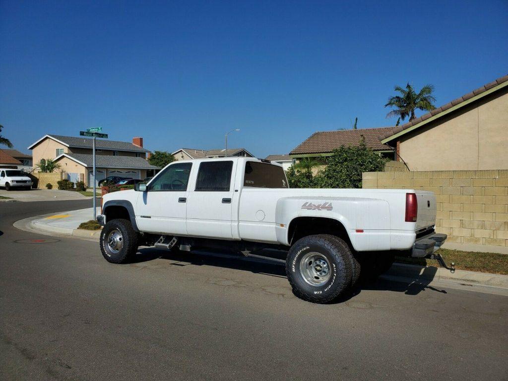 rust free 2000 Chevrolet K3500 offroad