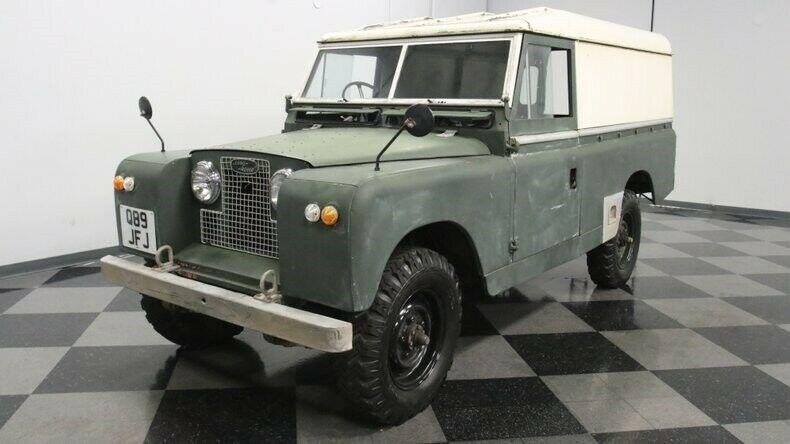 1960 Land Rover Series IIA [vintage classic]