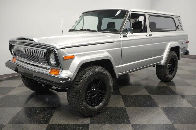 1977 Jeep Cherokee Chief offroad [modern upgrades]