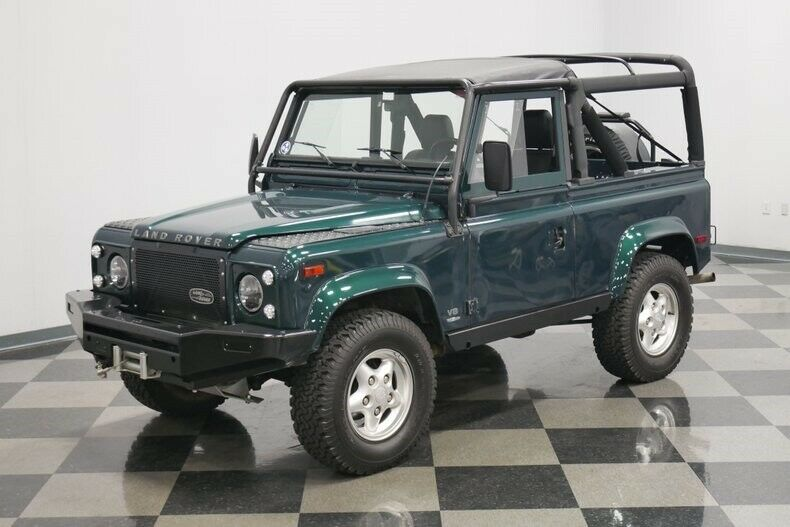 1997 Land Rover Defender 90 offroad [well maintained]