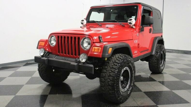 2006 Jeep Wrangler offroad [has all the usual Jeep ruggedness]